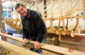 Brian Nobbs - builder of our traditional pilot gigs