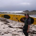 The intrepid kayaker