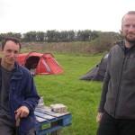 The St Agnes campsite contingent