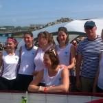 Ladies A team warpaint!