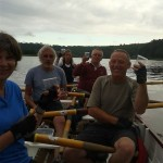 Social rowing antics