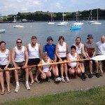 Mixed regatta Saltash 21st June 2014
